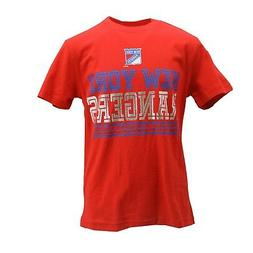 New York Rangers Kids Youth Size Official NHL Apparel T-Shir