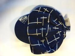 New York Rangers Knit Beanie Toque Winter Hat Skull Cap - NH