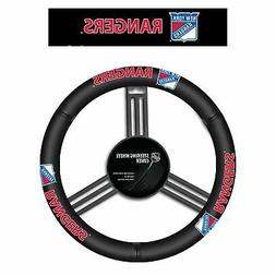 New York Rangers® Leather Steering Wheel Cover