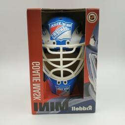 New York Rangers Riddell MINI NHL Hockey Goalie Mask Helmet