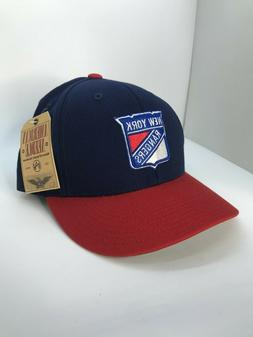 American Needle New York Rangers Navy / Red NHL Snapback Hat