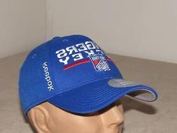 New York Rangers NHL Baseball Hat Adult L/XL REEBOK Center I