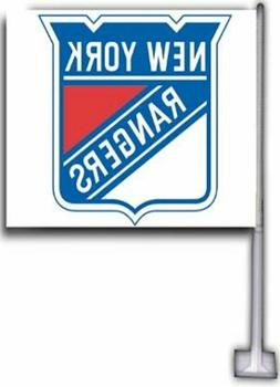 NEW YORK RANGERS NHL CAR FLAGS  TOP QUALITY