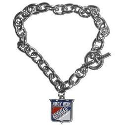 New York Rangers NHL Charm Bracelet