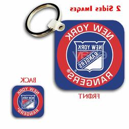New York Rangers NHL Custom Key Chain Key Ring Jewelry Penda