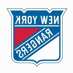 New York Rangers NHL Hockey Full Color Logo Sports Decal Sti