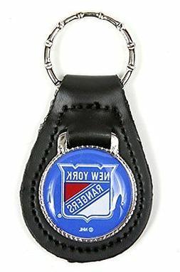 New York Rangers NHL Keychain & Keyring - Leather