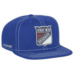 New York Rangers Reebok NHL Men's Large Logo Boxy Adjustable