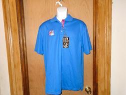 New York Rangers NHL Men's Level Wear Polo Golf Shirt Size S