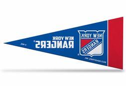 "New York Rangers NHL Mini Pennant 9""x4"" New, Felt,Made in US"