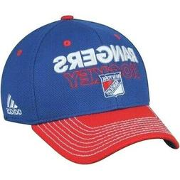 New York Rangers adidas NHL Official Locker Room Fitted Cap