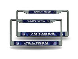 New York Rangers NHL  Chrome Metal License Plate Frames