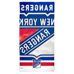 New York Rangers NY Beach Towel 30 x 60 Spectra Beach Towel