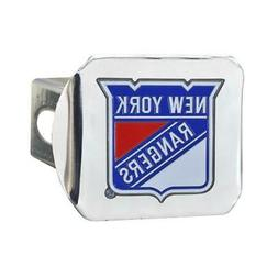 New York Rangers NY Trailer Hitch Chrome Hitch Cover
