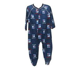 New York Rangers Official NHL Apparel Baby Infant Size Pajam