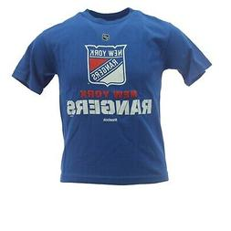 New York Rangers Official NHL Reebok Apparel Youth Kids Size