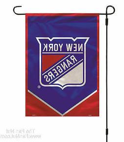New York Rangers Premium 2-sided Garden Window Flag Banner H