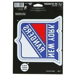 "New York Rangers WinCraft Primary 6"" x 9"" Car Magnet"
