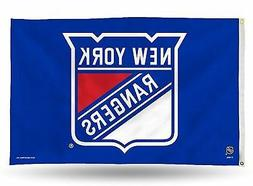 New York Rangers Rico 3x5 Flag w/grommets Outdoor House Bann
