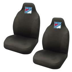 New York Rangers Set of 2 Embroidered Seat Covers