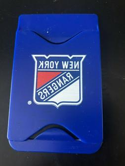 New York Rangers Silicone ID/Credit Card Holder for Cellphon