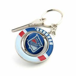 New York Rangers Spinner Keychain