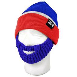 New York Rangers Stubble NHL Red White Blue NYR Knit Beard M