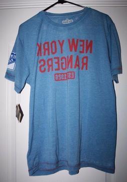 New York Rangers T Shirt Genuine Hocky NHL Merchandise By Re