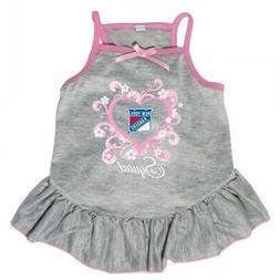 "New York Rangers ""Too Cute Squad"" Pet Dress - Large"