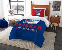 New York Rangers Twin Comforter Set