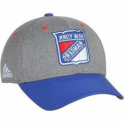 New York Rangers adidas Two-Tone Structured Adjustable Hat -