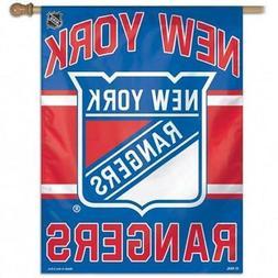 New York Rangers Vertical Banner  NHL Flag Yard House Sign O