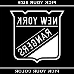 New York Rangers Vinyl Sticker / Decal *NHL*Eastern*Metropol