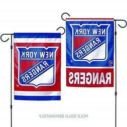 New York Rangers WC Garden Flag Premium 2-Sided Outdoor Hous
