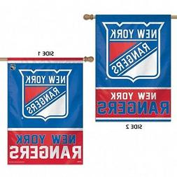 New York Rangers WC Premium 2-Sided 28x40 Banner Outdoor Hou