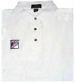 NEW YORK RANGERS WHITE POLO SHIRTS  size XXX-Large