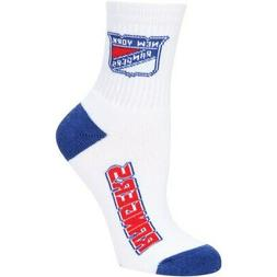 New York Rangers For Bare Feet Women's 2-Pack Quarter-Length