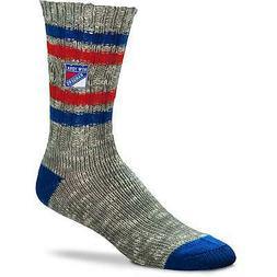 New York Rangers For Bare Feet Women's Alpine Tweed Crew Soc