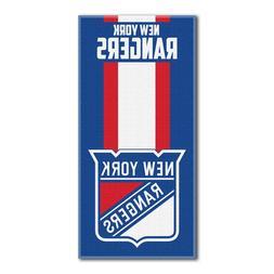 "NHL New York N.Y. Rangers Logo Cotton Beach Towel 30"" x 60"""