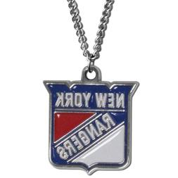 """NHL New York Rangers Chain Necklace, 22"""""""