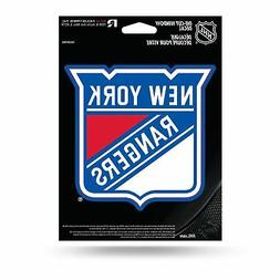 NHL New York Rangers Die Cut Vinyl Decal with Backing, Multi