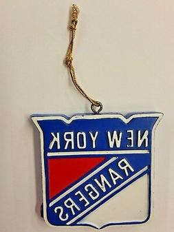 nhl new york rangers logo ornament new