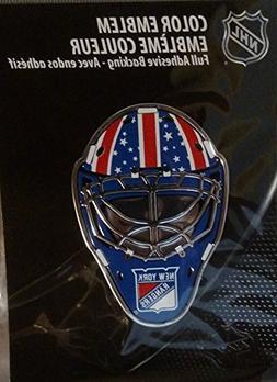 NHL New York Rangers Mask Emblem, Red