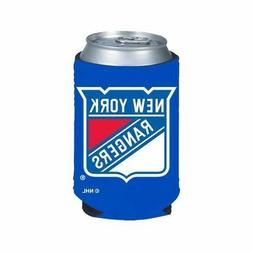 NHL New York Rangers Royal Blue Collapsible Can Koozie