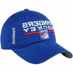 NHL Reebok New York Rangers Slouch Adjustable Cap Snapback H