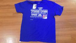 NHL New York Rangers T-Shirt President' Trophy 2014-14 New w