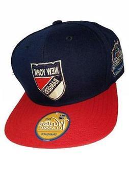 NHL New York Rangers Winter Classic Snapback Hat, Royal, One
