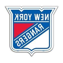 NHL New York Rangers Team Logo Car Magnet