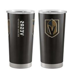 NHL Vegas Golden Knights Travel Tumbler 20oz Ultra Black Boe