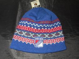 NWT MITCHELL & NESS NEW YORK RANGERS NHL LICENSED POM WINTER
